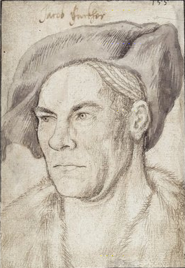 Hans Holbein the Elder, Portrait of Jacob Fugger (1509), Staatliche Museen zu Berlin