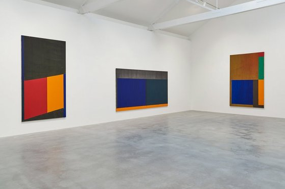 Hoyland's abstracts from the late 1960s (Prudence Cuming/Kioyar Ltd)