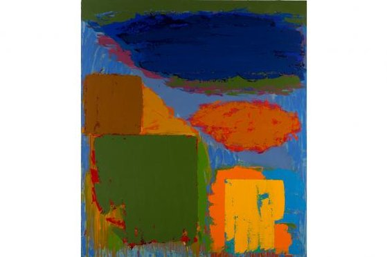 Longspeak, 1979, by John Hoyland. (The John Hoyland Estate/Prudence Cuming Associa