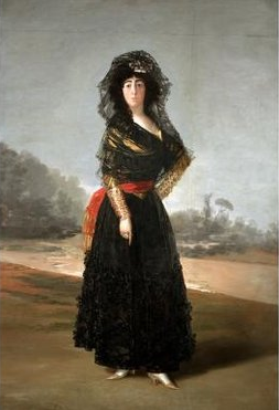 The Duchess of Alba, 1797, by Francisco de Goya (Courtesy of The Hispanic Society of America, New York)