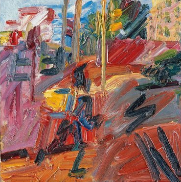 Hampstead Heath, High Summer, 2010, by Frank Auerbach