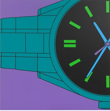 Michael Craig-Martin's Untitled (watch fragment), 2015 (Michael Craig-Martin)