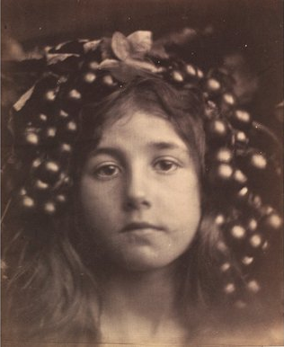 Circe, from 1865, by Julia Margaret Cameron, on show at the V&A (Victoria and Albert Museum)