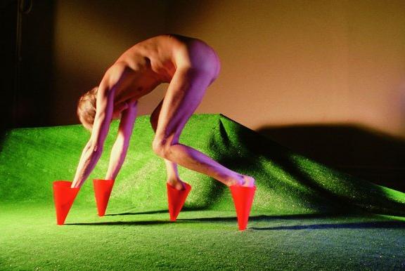 Jimmy De Sana's Marker Cones (1982)