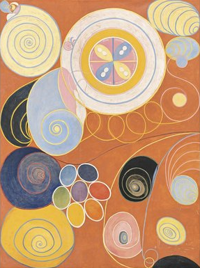 The Ten Largest, Youth (1907), by Hilma af Klint (Courtesy of Stiftelsen Hilma af Klints Verk)