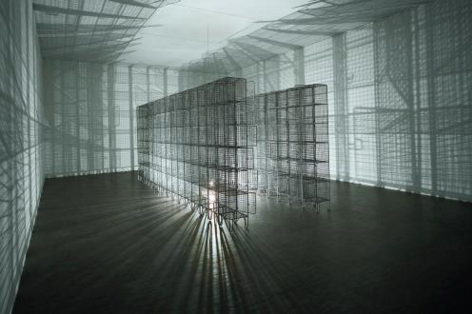 Light Sentence, 1992 COURTESY KUNSTMUSEUM ST GALLEN, WHITE CUBE © MONA HATOUM
