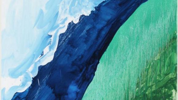 Crashing Wave (2011), by Mary Heilmann