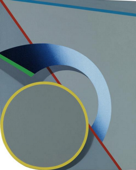 Oeje (2016), by Tomma Abts © MARY HEILMANN COURTESY OF THE ARTIST