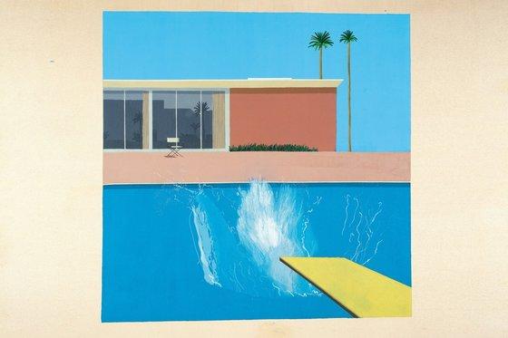 A bigger Splash, David Hockney