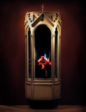 Mat Collishaw, Auto-Immolation, 2010