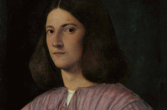 Portrait of a Young Man (Giustiniani Portrait), attributed to Giorgione, c1497-99