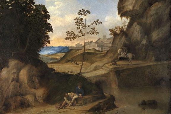 Giorgione, Il Tramonto (The Sunset), c1506-10