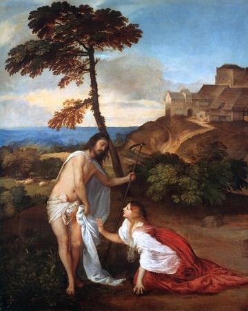 Titian's Noli Me Tangere, National Gallery