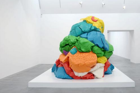 Play-Doh 1994-2014, Jeff Koons ANTHONY DEVLIN/PA WIRE