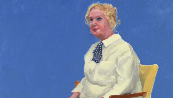 Hockney's Celia Birtwell DAVID HOCKNEY