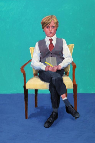 Rufus Hale, 2015 DAVID HOCKNEY