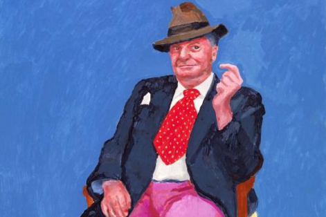 Barry Humphries, 2015 DAVID HOCKNEY